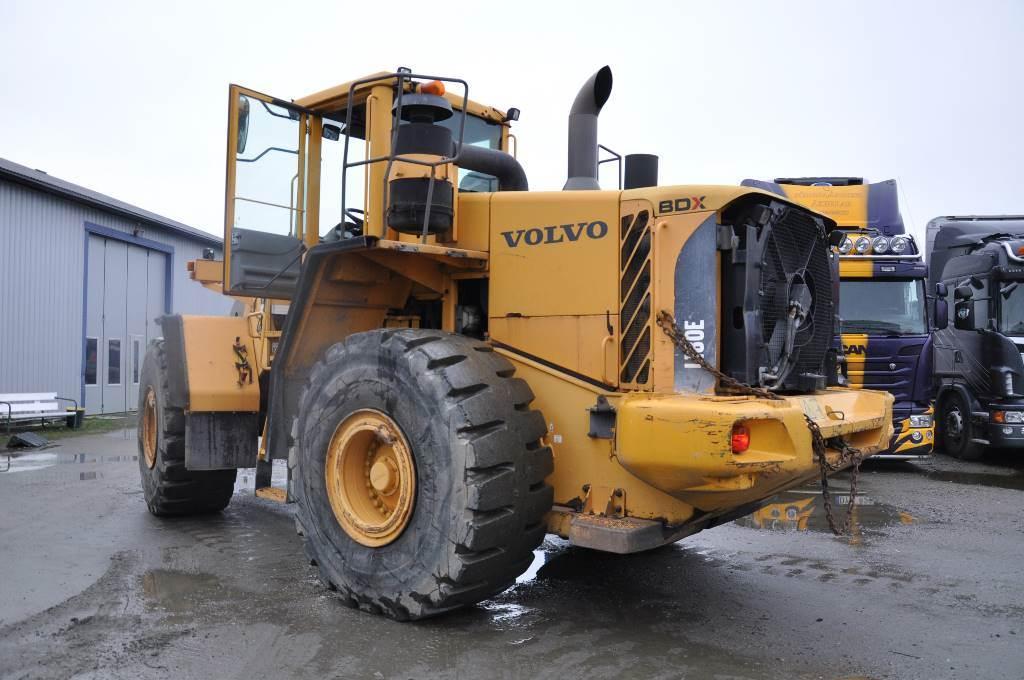 Volvo L 180 E, Hjullastare, Entreprenad