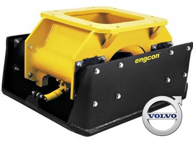 Engcon PP600 Vibroplate, Plate Compactors, Construction Equipment