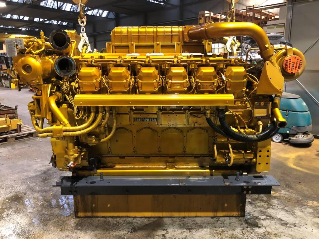Caterpillar 3512 B HD - Marine Propulsion - 1675 HP - S2J, Marine Applications, Construction