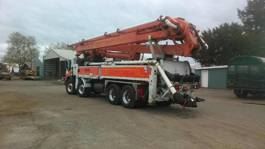 Schwing BPL 2525H- 6 KVMS 47SX, Boom Pumps, Construction Equipment
