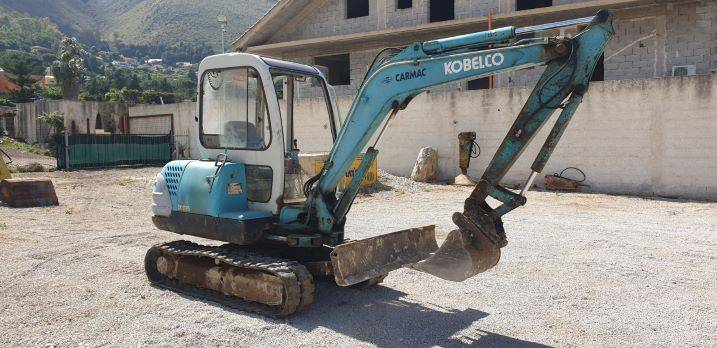 Kobelco SK 35, Mini excavators, Construction Equipment