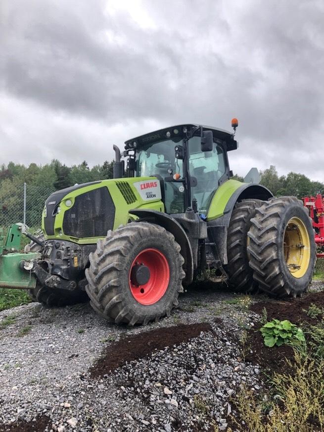 CLAAS Axion 830 Cmatic -14, Traktorer, Lantbruk