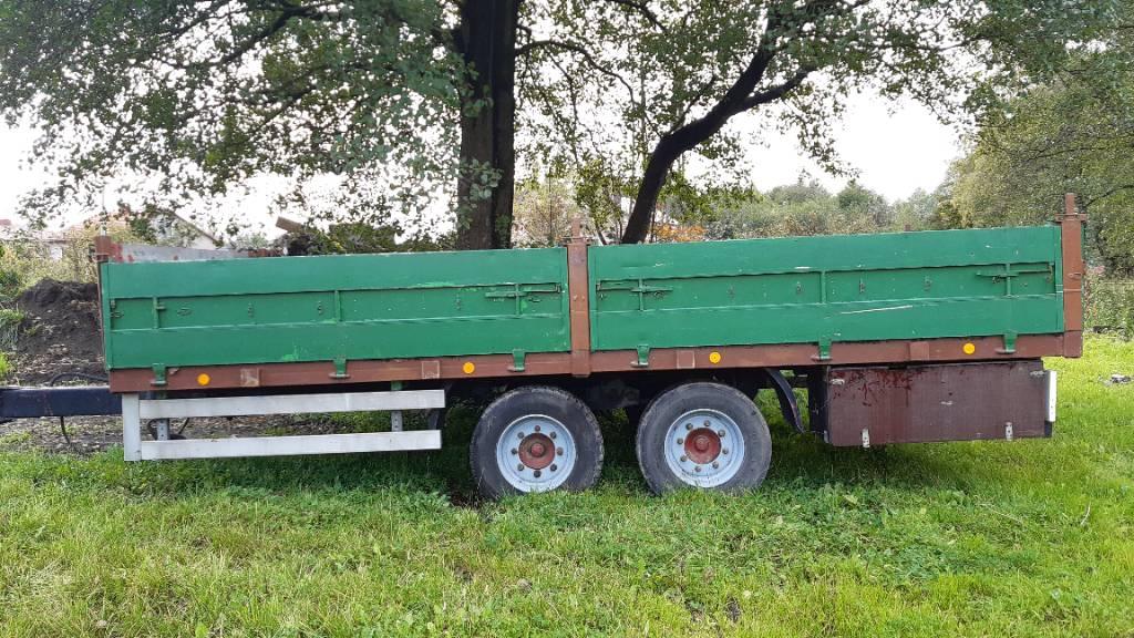 Kässbohrer T5 T5, Naczepy niski załadunek, Transport