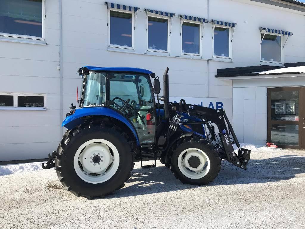New Holland T4.65S Quicke X2S Ny! Omg. leverans!, Traktorer, Lantbruk