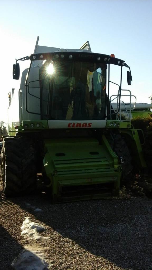 CLAAS Lexion 670, Derliaus nuėmimo kombainai, Žemės ūkis