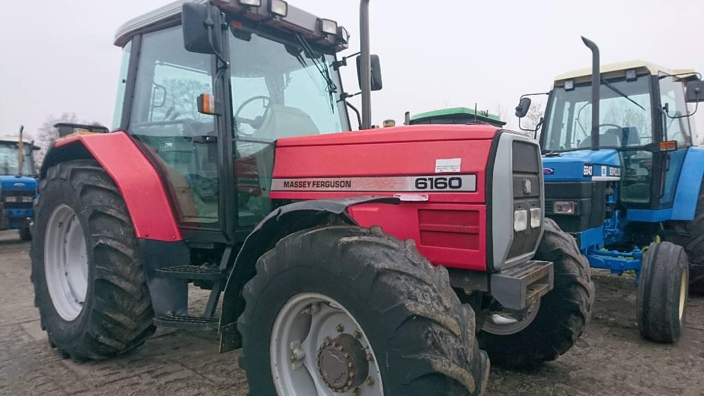 Massey Ferguson 6160, Traktory, Maszyny rolnicze