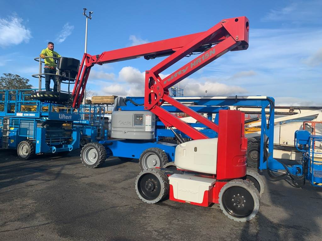 Niftylift HR15NE, Articulated boom lifts, Construction