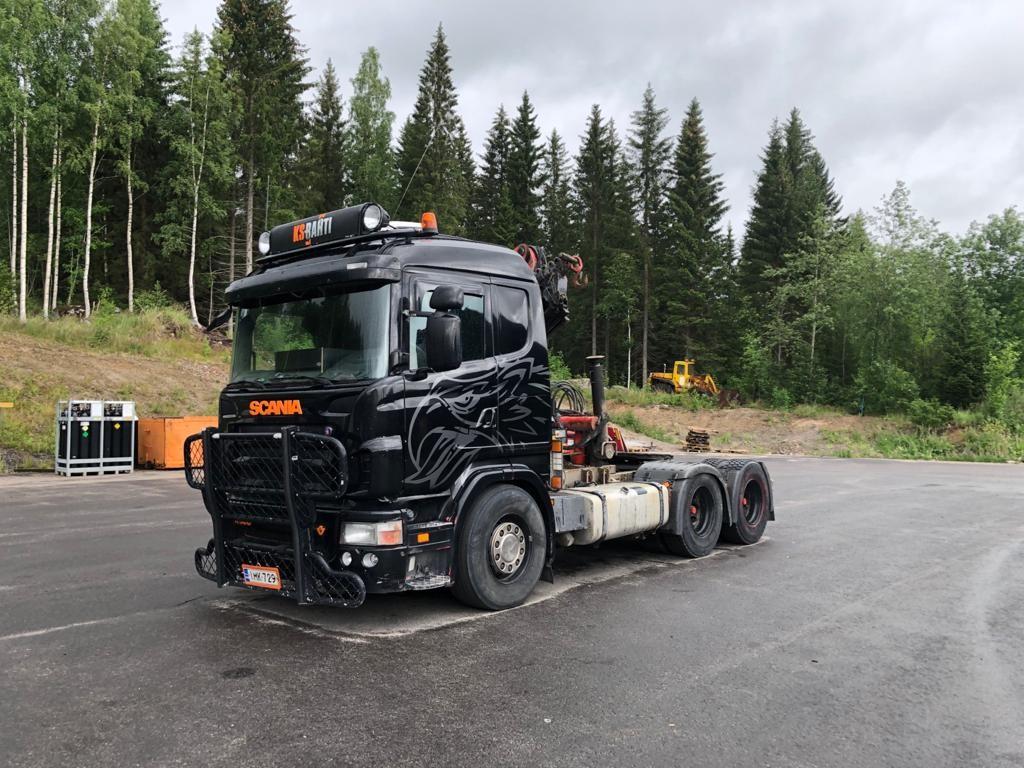Scania R500 6x4 palfinger PK18000 nosturilla, Vetopöytäautot, Kuljetuskalusto