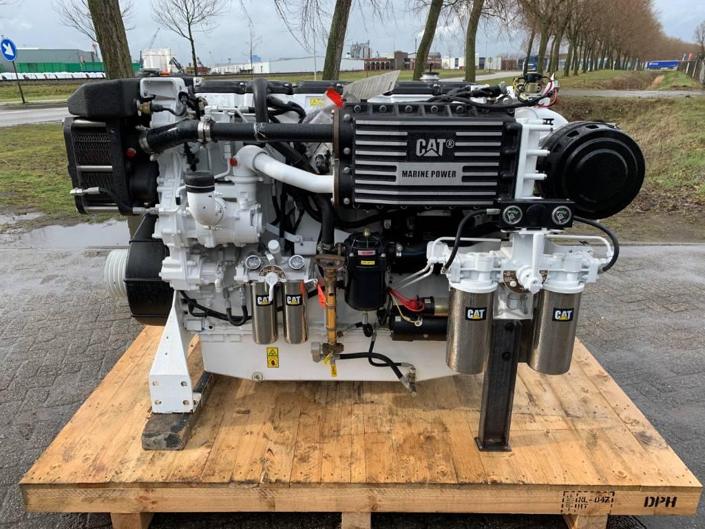 Caterpillar C18 - Marine Auxiliary - 492 kW - GPN, Marine auxiliary engines, Construction