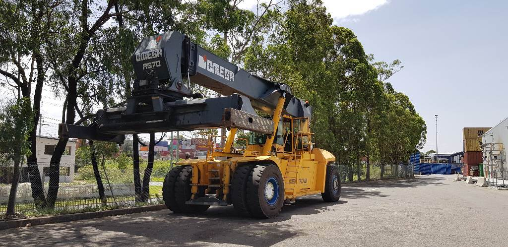 Clark Omega RS70 B335S, Reachstackers, Material Handling