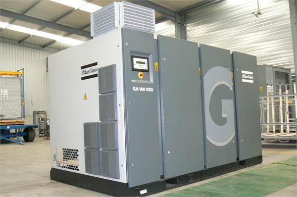 Atlas Copco GA 160 VSD, Compressors, Industrial