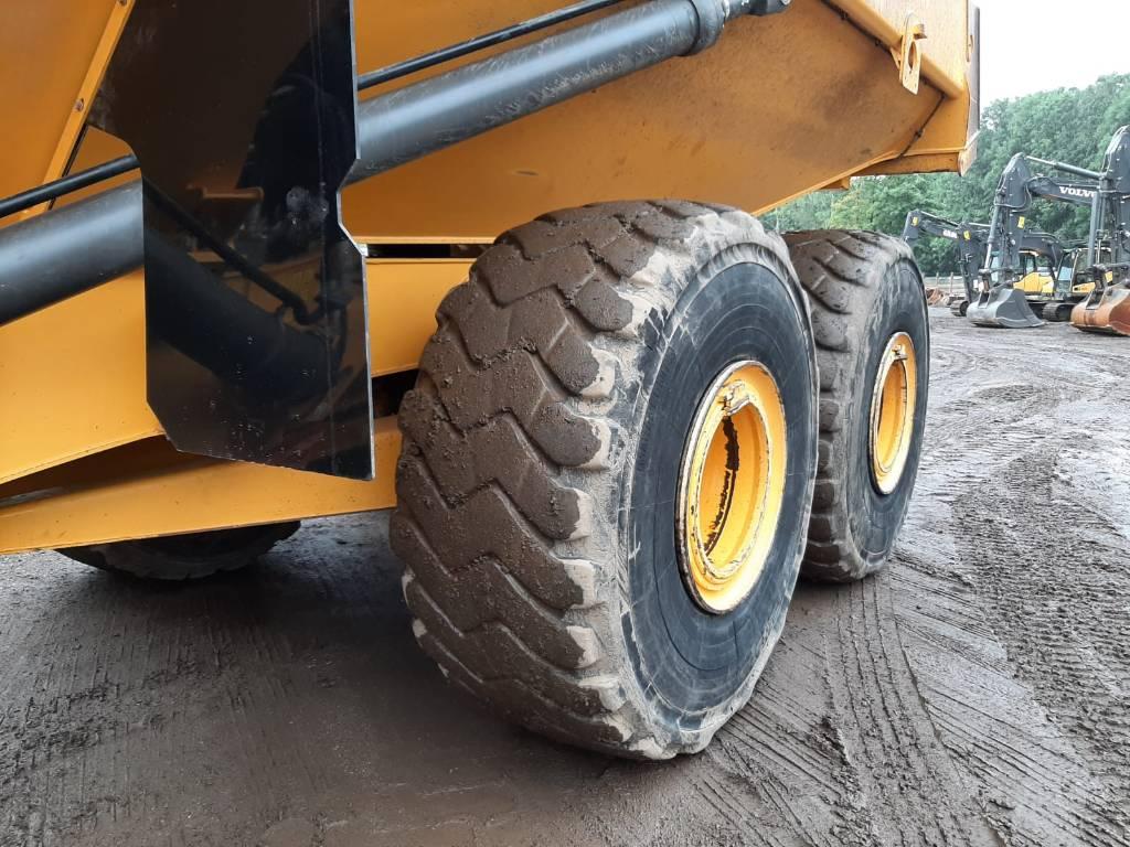 Volvo A 40 G, Articulated Dump Trucks (ADTs), Construction Equipment