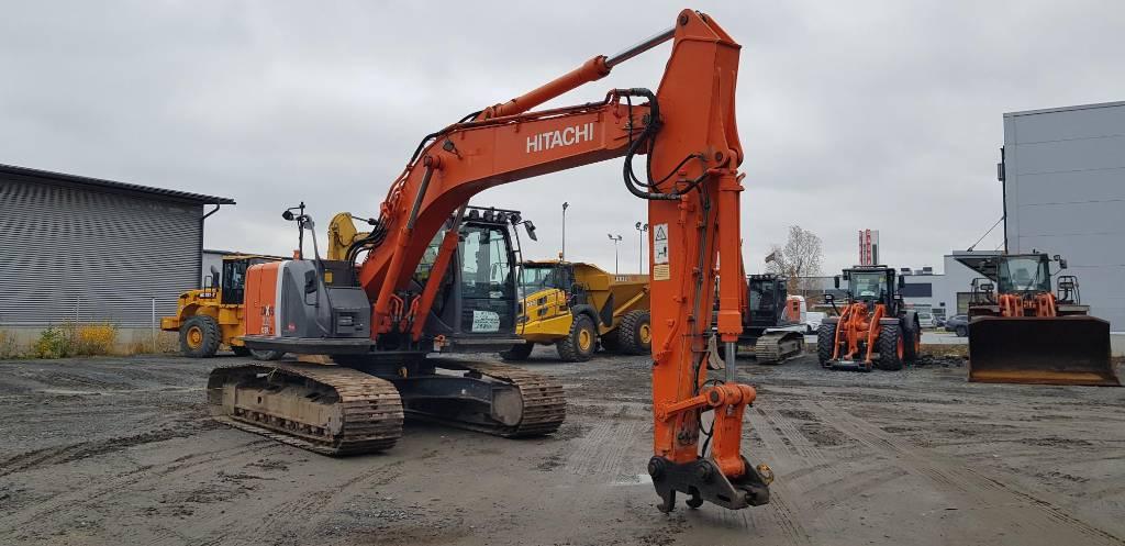 Hitachi ZX 225 US LC-3, Crawler excavators, Construction