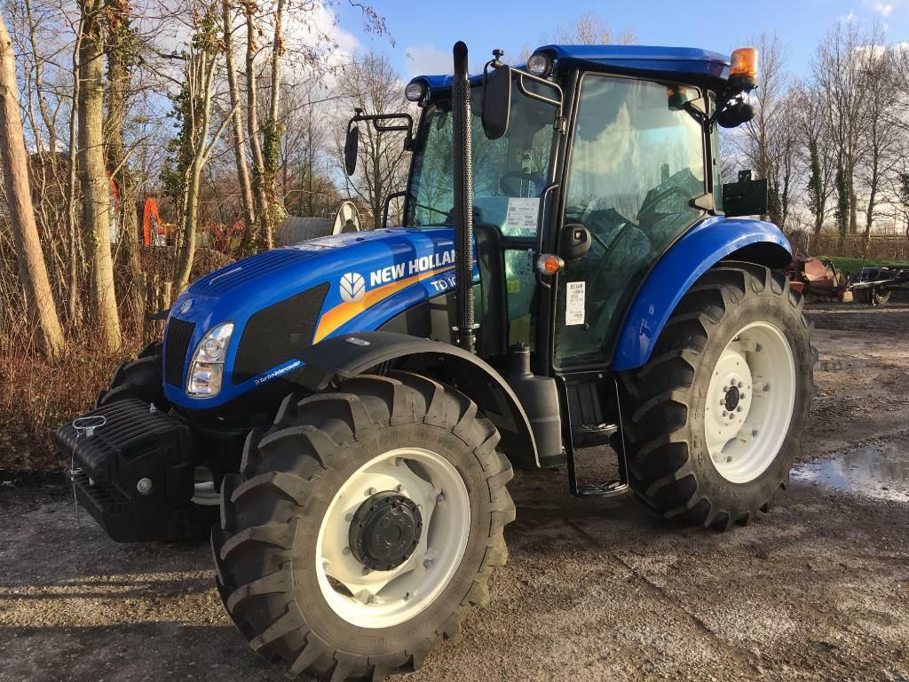 New Holland TD 100 4WD, Tractoren, Landbouw