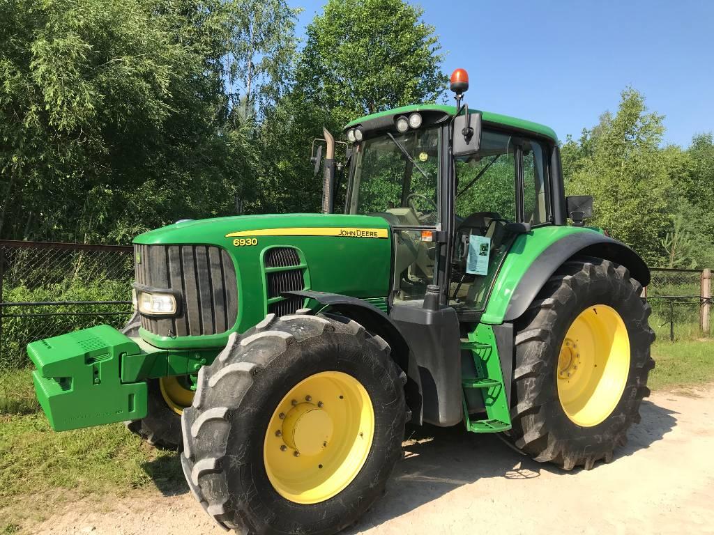 John Deere 6930, Tractors, Agriculture