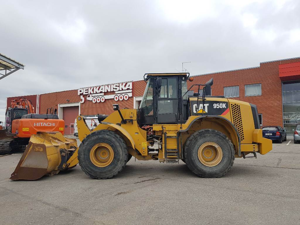 Caterpillar 950K, Pyöräkuormaajat, Maarakennus