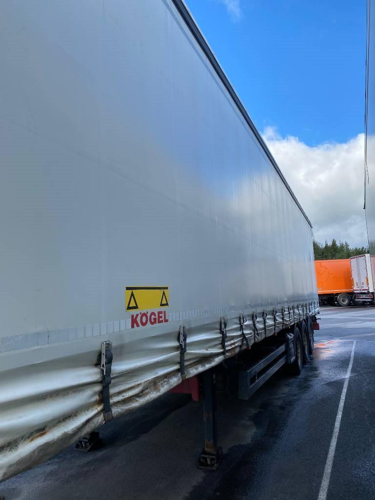 Kögel Flexiuse, Curtainsider semi-trailers, Transportation