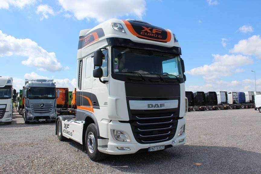 DAF XF 510, Conventional Trucks / Tractor Trucks, Trucks and Trailers