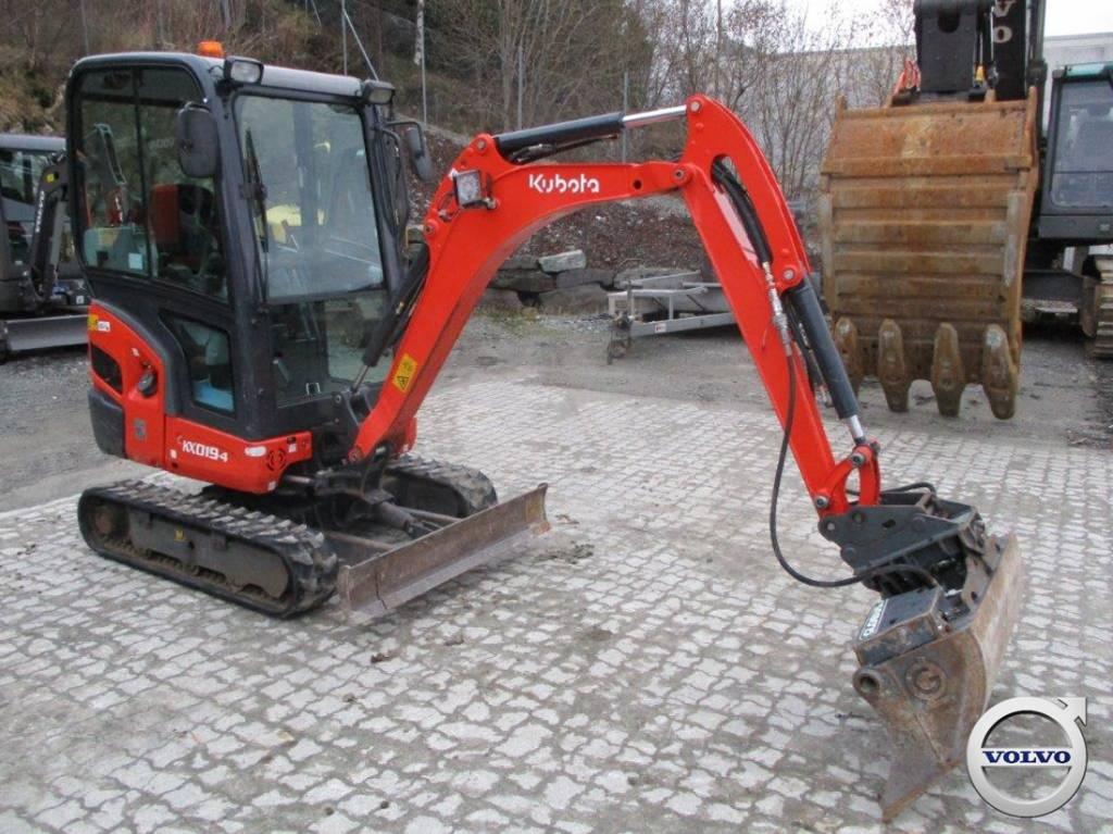 Kubota KX 019-4, Mini Excavators <7t (Mini Diggers), Construction Equipment