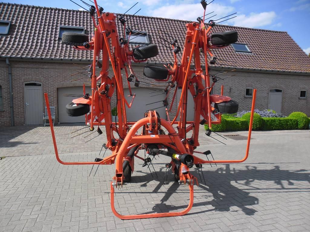 Kuhn GF 8702, Harkkeerders en schudders, Landbouw