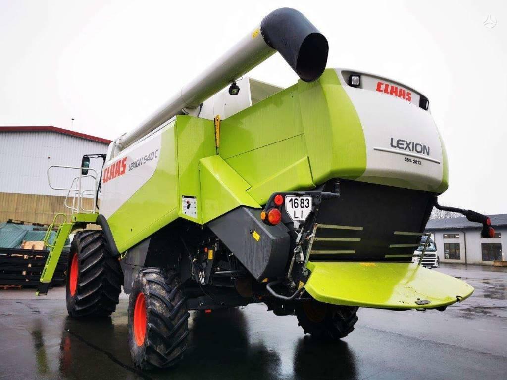 CLAAS Lexion 540 C, Leikkuupuimurit, Maatalouskoneet