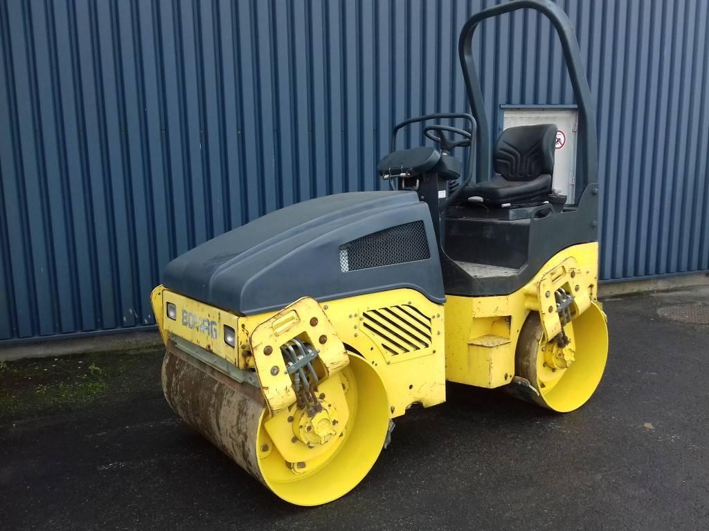 Bomag BW 120 AD-4, Soil Compactors, Construction