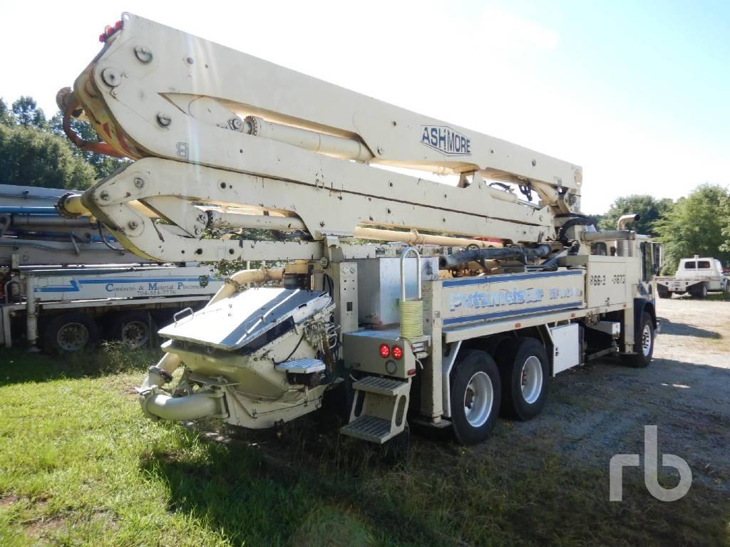 Putzmeister BSF 36Z.16H, Boom Pumps, Construction Equipment