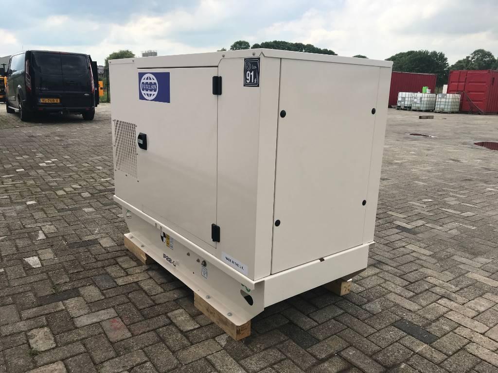 FG Wilson P13.5-6 - 14 kVA Generator - DPX-16000, Diesel generatoren, Bouw