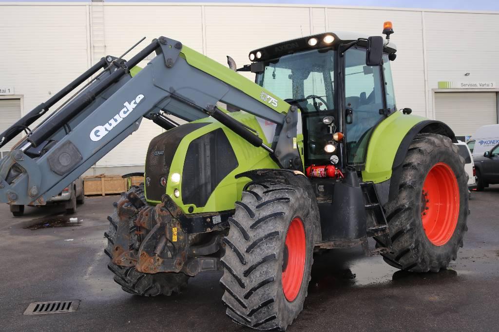 CLAAS Axion 850 Cebis, Traktoriai, Žemės ūkis