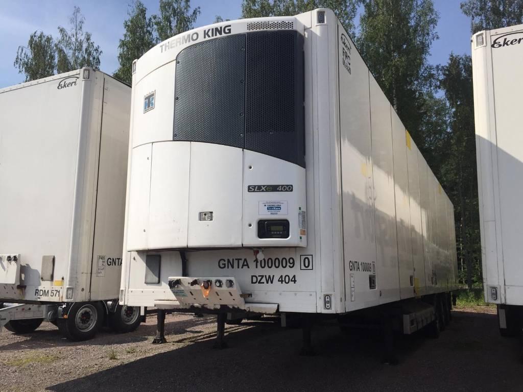 Ekeri FRC 2014 Huckepack DKX-731 ATP 01/2023, Skåptrailer Kyl/Frys/Värme, Transportfordon