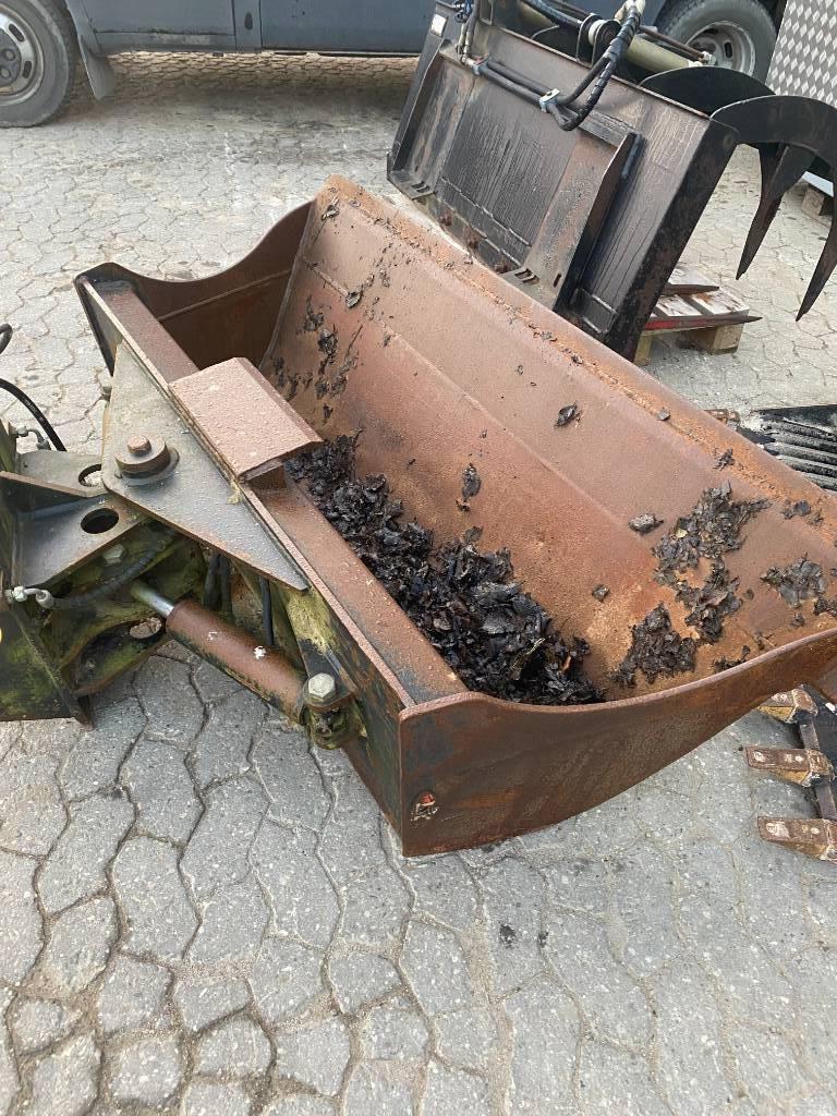 [Other] 1700 mm kipskovl m/2 stempler Hydrema ophæng, Skovle, Entreprenør