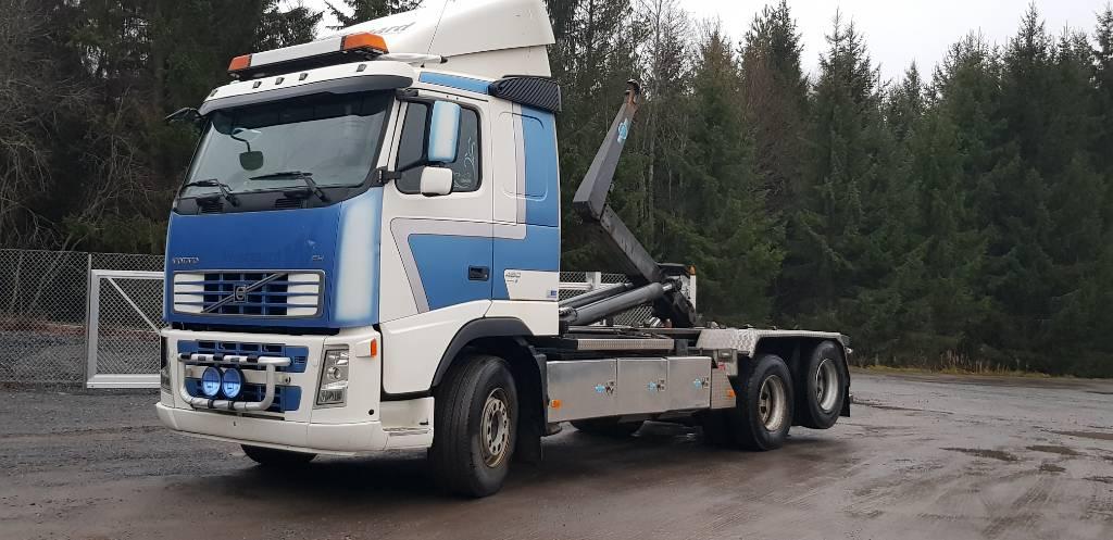 Volvo FH480 6x2, Koukkulava kuorma-autot, Kuljetuskalusto