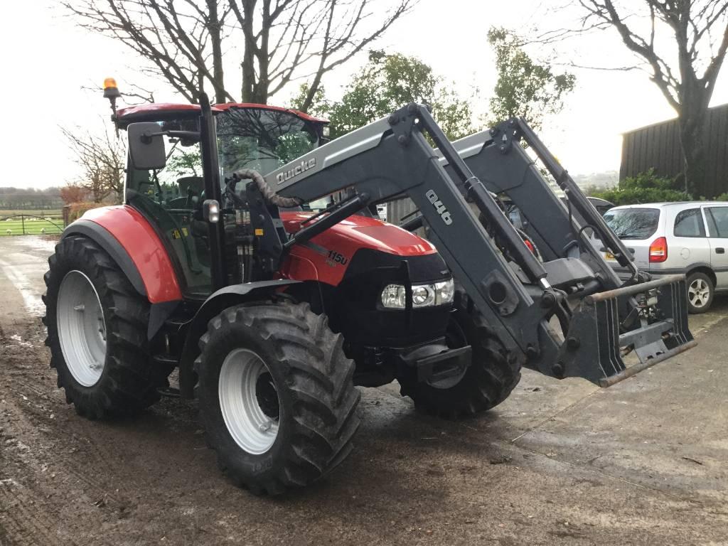Case IH Farmall 115 U Pro c w Q46 loader