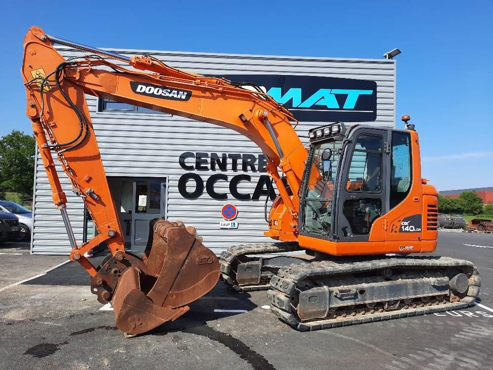 Doosan DX 140 LCR-3, Crawler Excavators, Construction Equipment