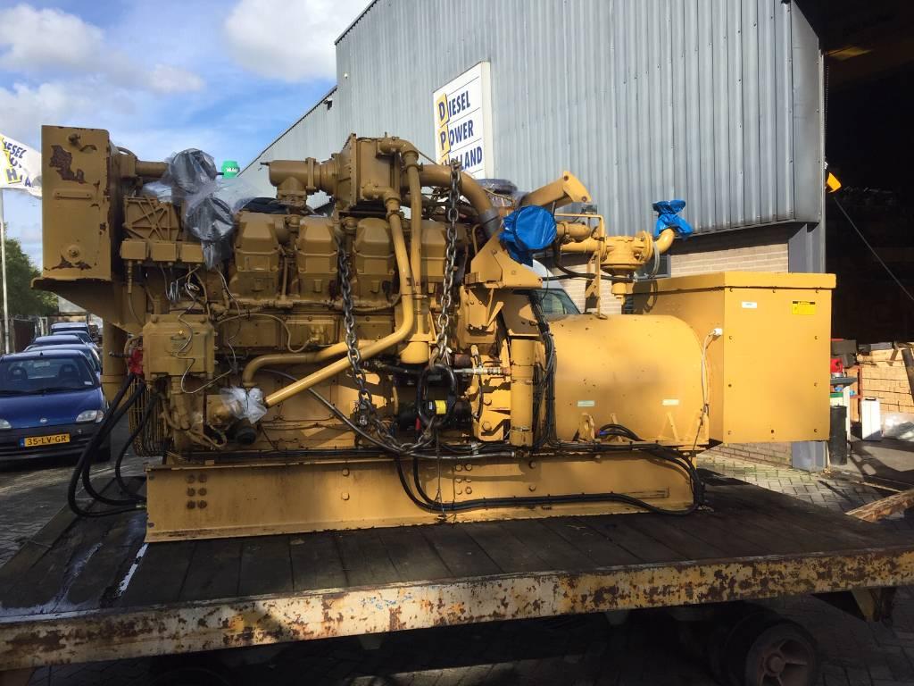 Caterpillar G 3508 - Gas Generator Set - 613 kVa - 9TG, Electric Power Generator, Construction
