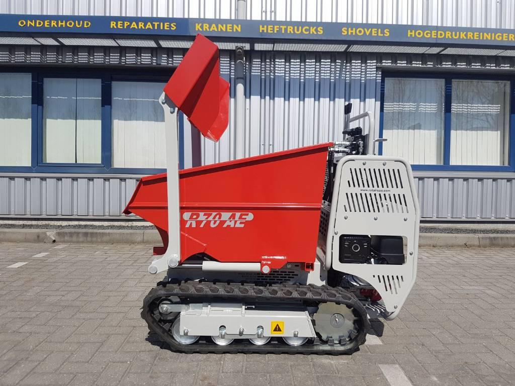 Rotair R70, Rupsladers, Bouw