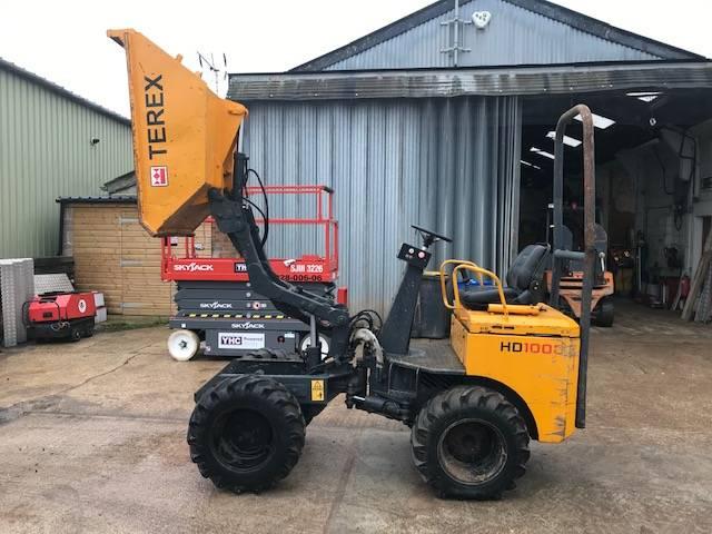 Terex HD 1000, Site dumpers, Construction