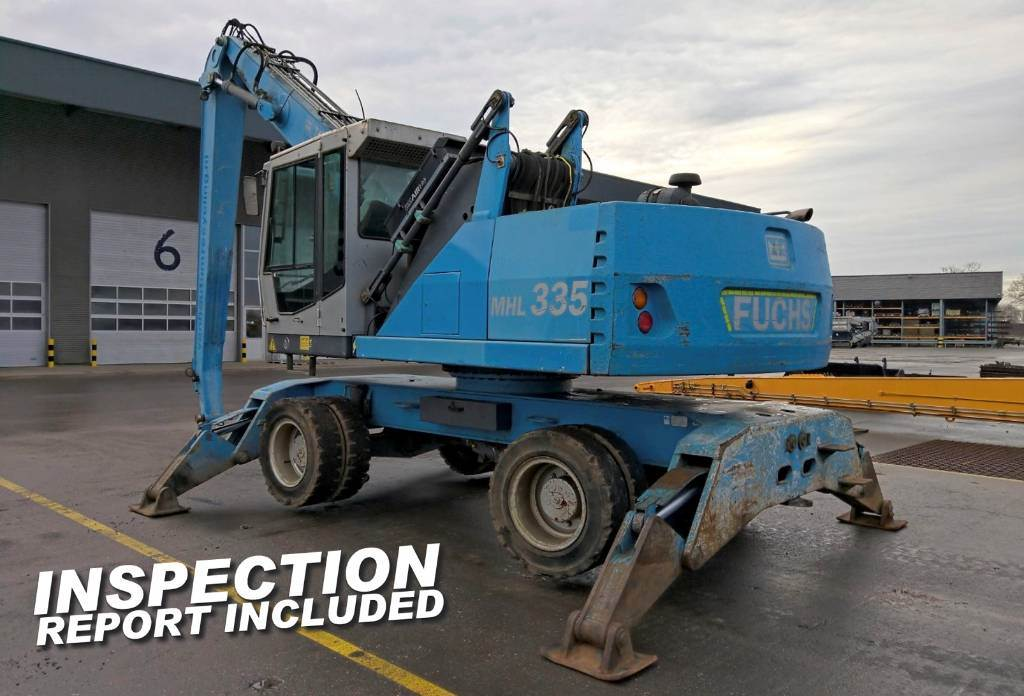 Fuchs MHL 335, Waste / industry handlers, Bouw