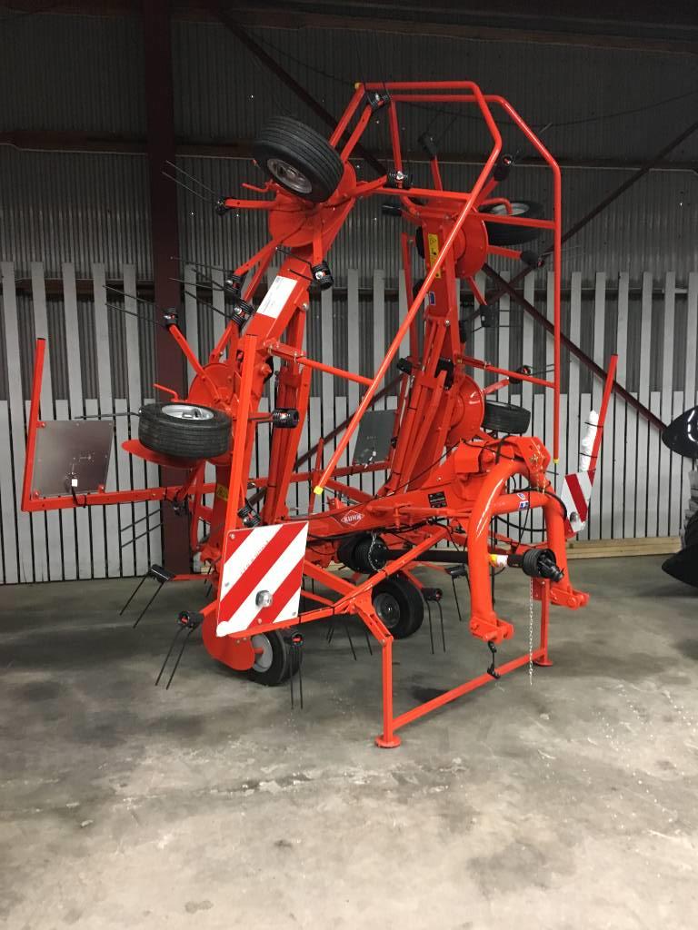 Kuhn GF 6502, Vändare och luftare, Lantbruk