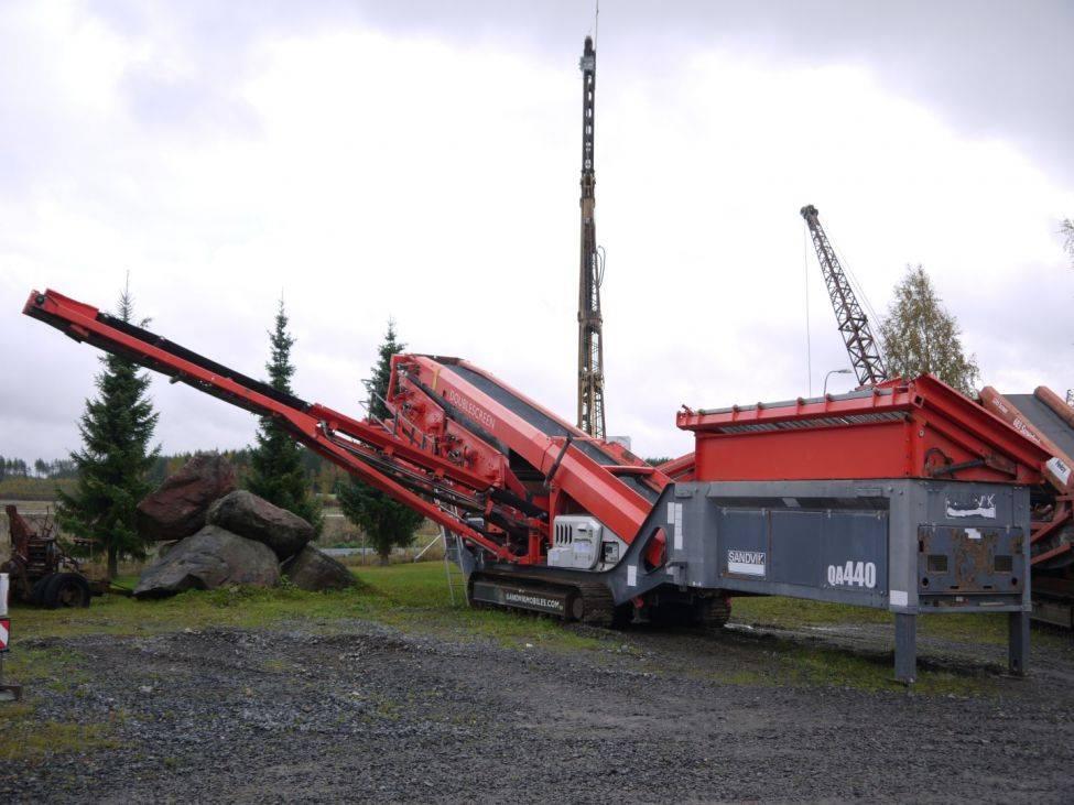 Sandvik QA 440, Mobiiliseulat, Maarakennus