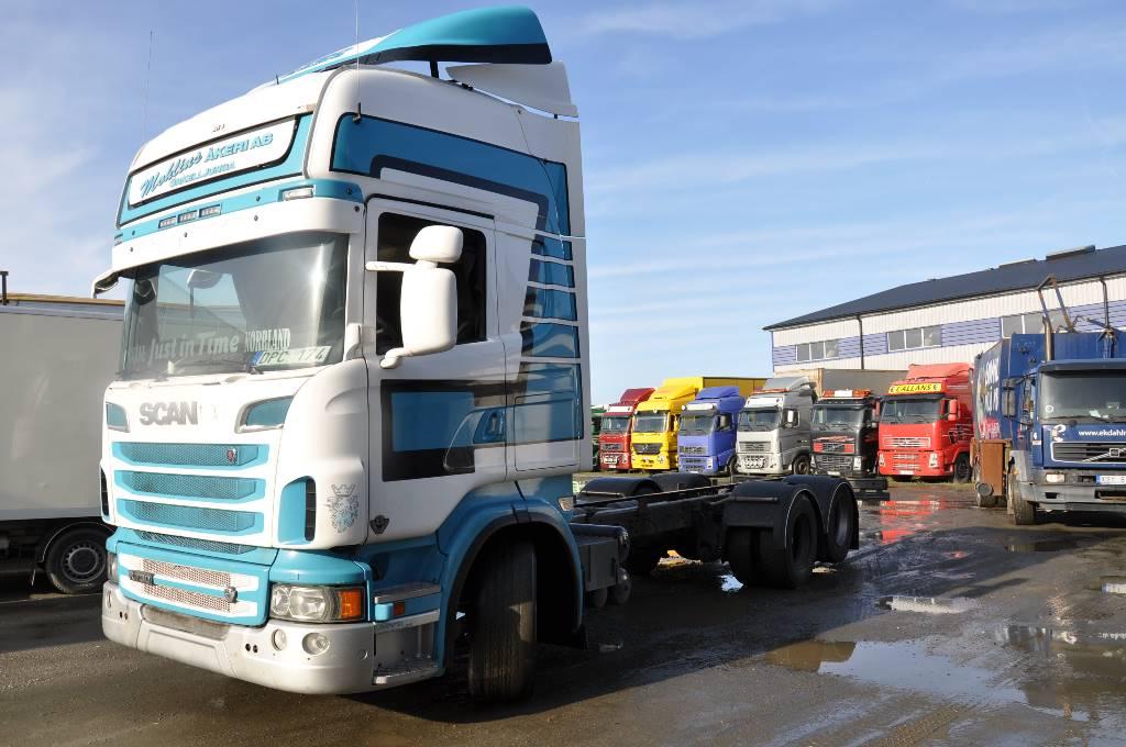 Scania R730 LB 6X2 MLB, Chassier, Transportfordon