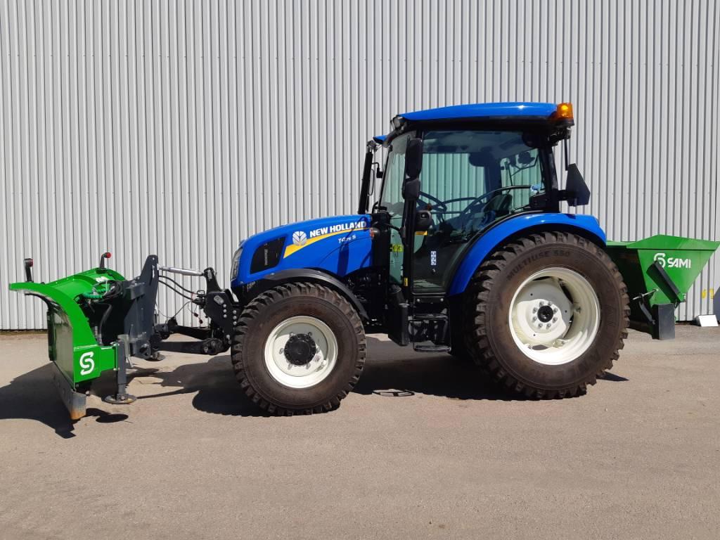 New Holland T4.75 S Vikplog & Sandspridare, Traktorer, Lantbruk