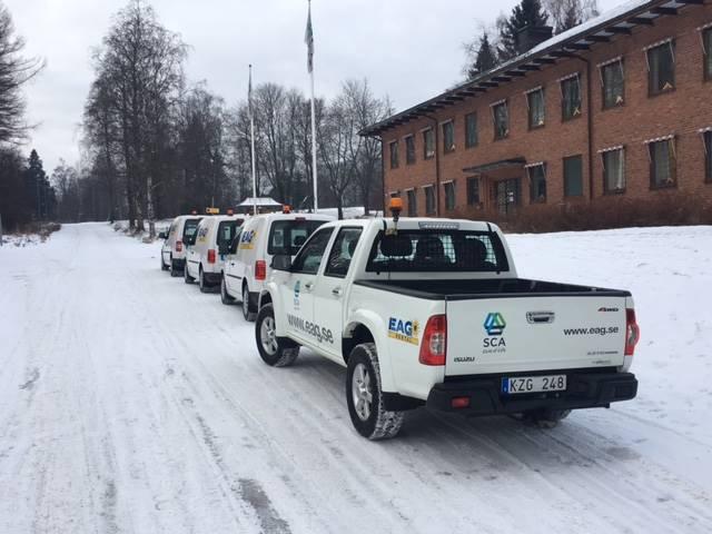Volkswagen Arbetsbilar / UTHYRES, Lätta lastbilar, Transportfordon