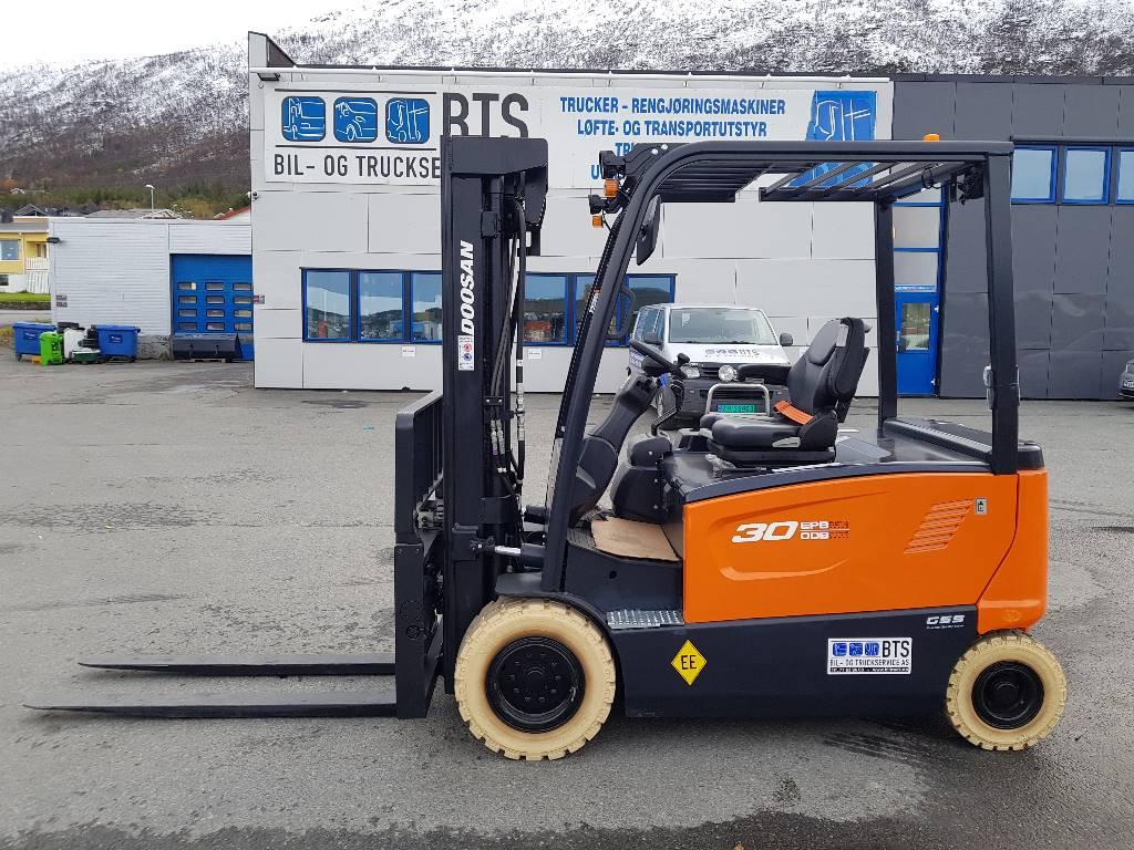 Doosan B30X-7 - 3,0 t el. truck - 4,93 m LH (PÅ LAGER), Elektriske trucker, Truck