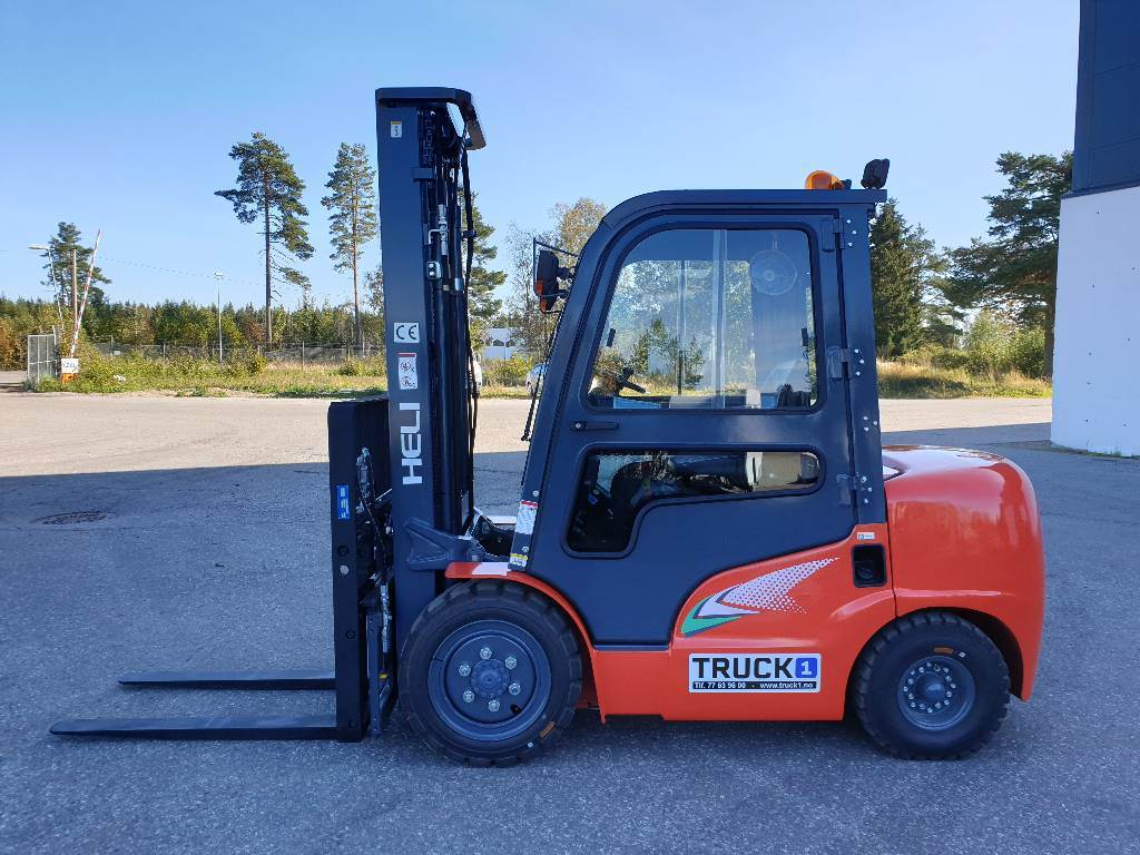 Heli CPCD35 (G2) - 3,5 t diesel - 5,4 m LH (PÅ LAGER), Diesel Trucker, Truck
