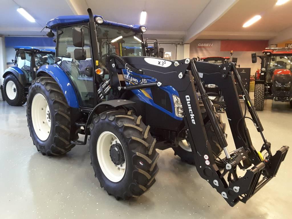 New Holland TD5.85 PS, AC Quicke X3S lastare Ny!, Traktorer, Lantbruk