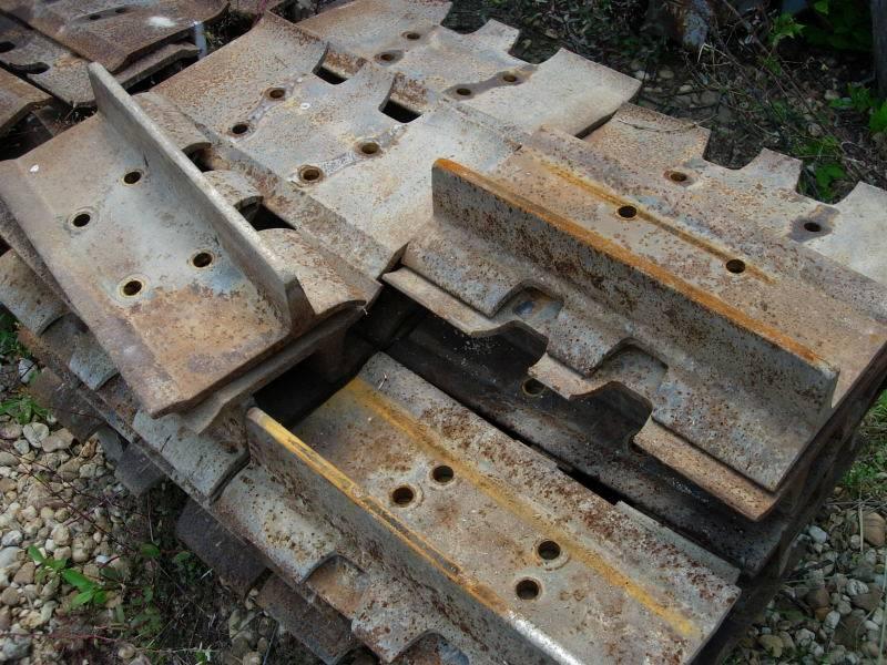 Caterpillar D6, Tracks, Construction Equipment