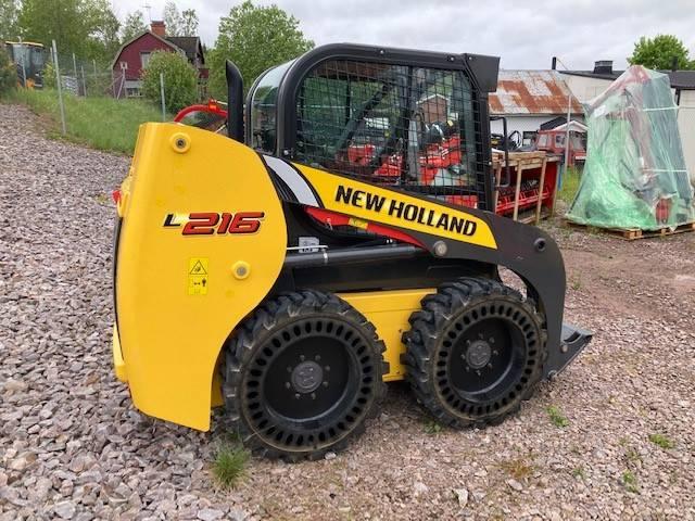 New Holland L 216, Minilastare, Entreprenad
