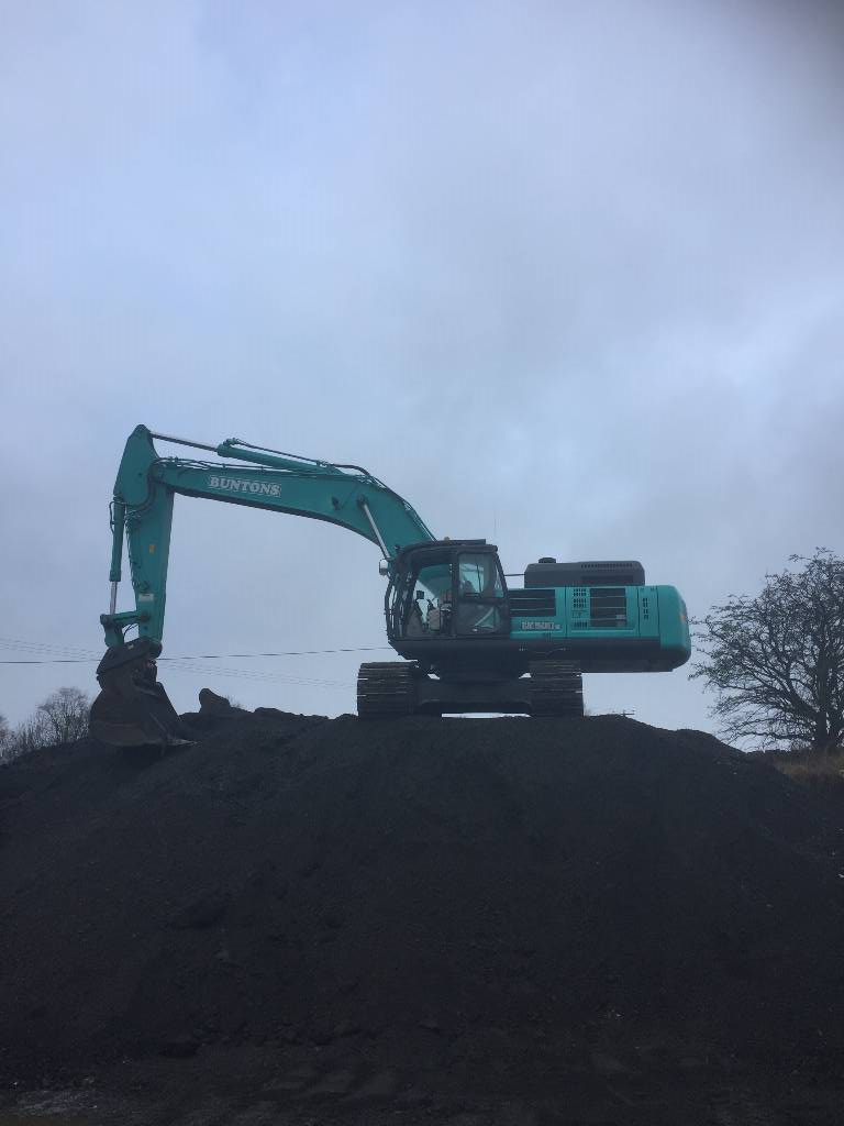 Kobelco SK 500 LC, Crawler excavators, Construction