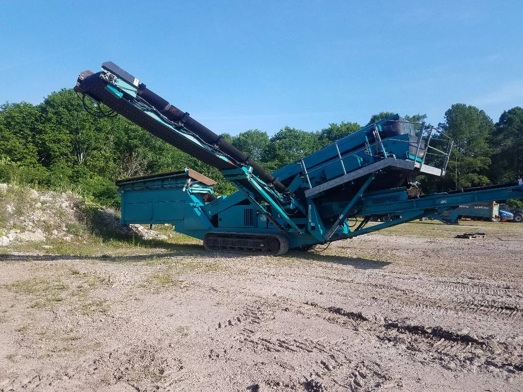 PowerScreen Chieftain 1400 T, Screeners, Construction Equipment